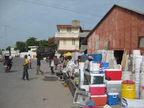 Tourist Market Cap Haitien
