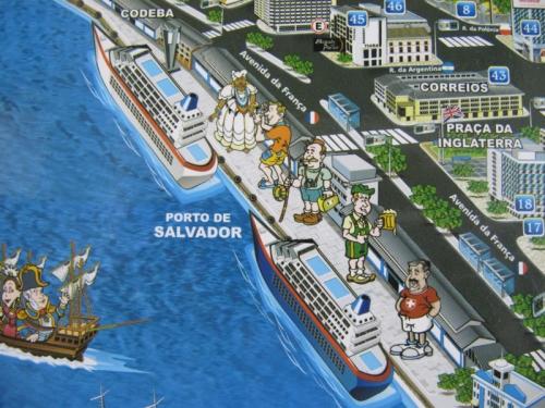 tourist caricatures